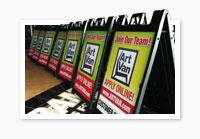 A-frame Sidewalk Signs
