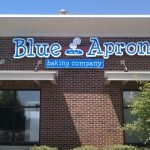 Blue Apron Channel Letters Lyon Twp