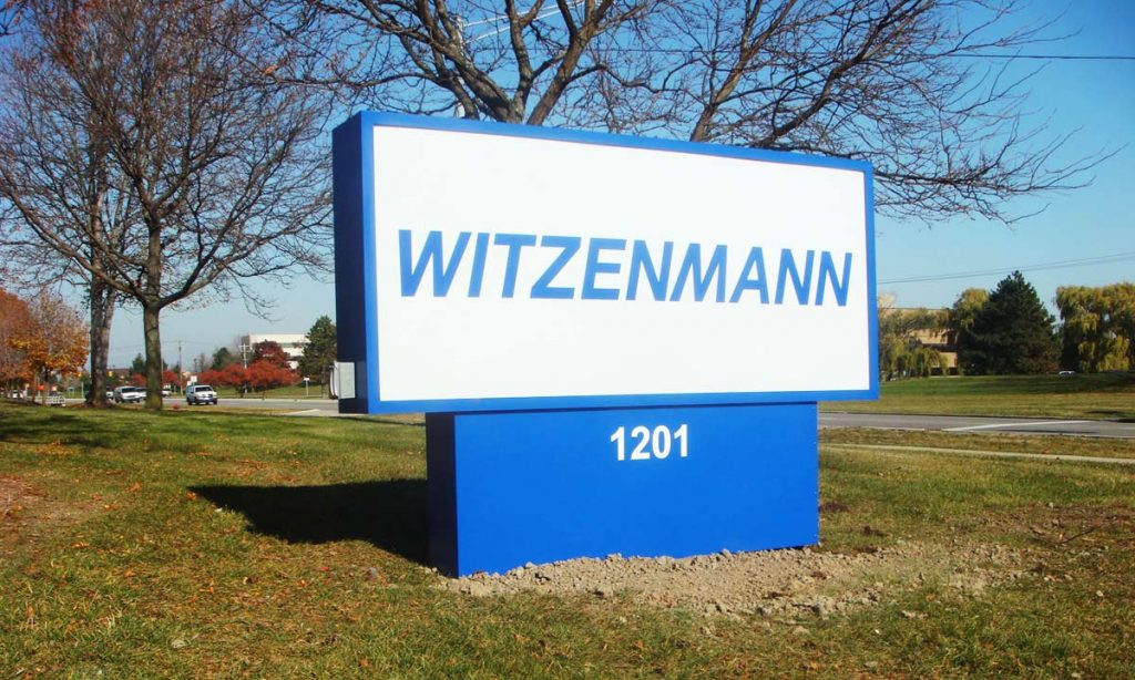 Witzenmann Troy Monument Sign