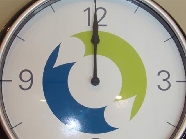 TI Automotive Custom Wall Clock
