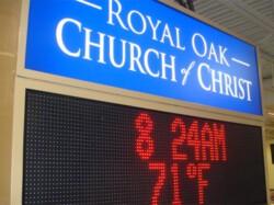 Royal Oak Church of Christ