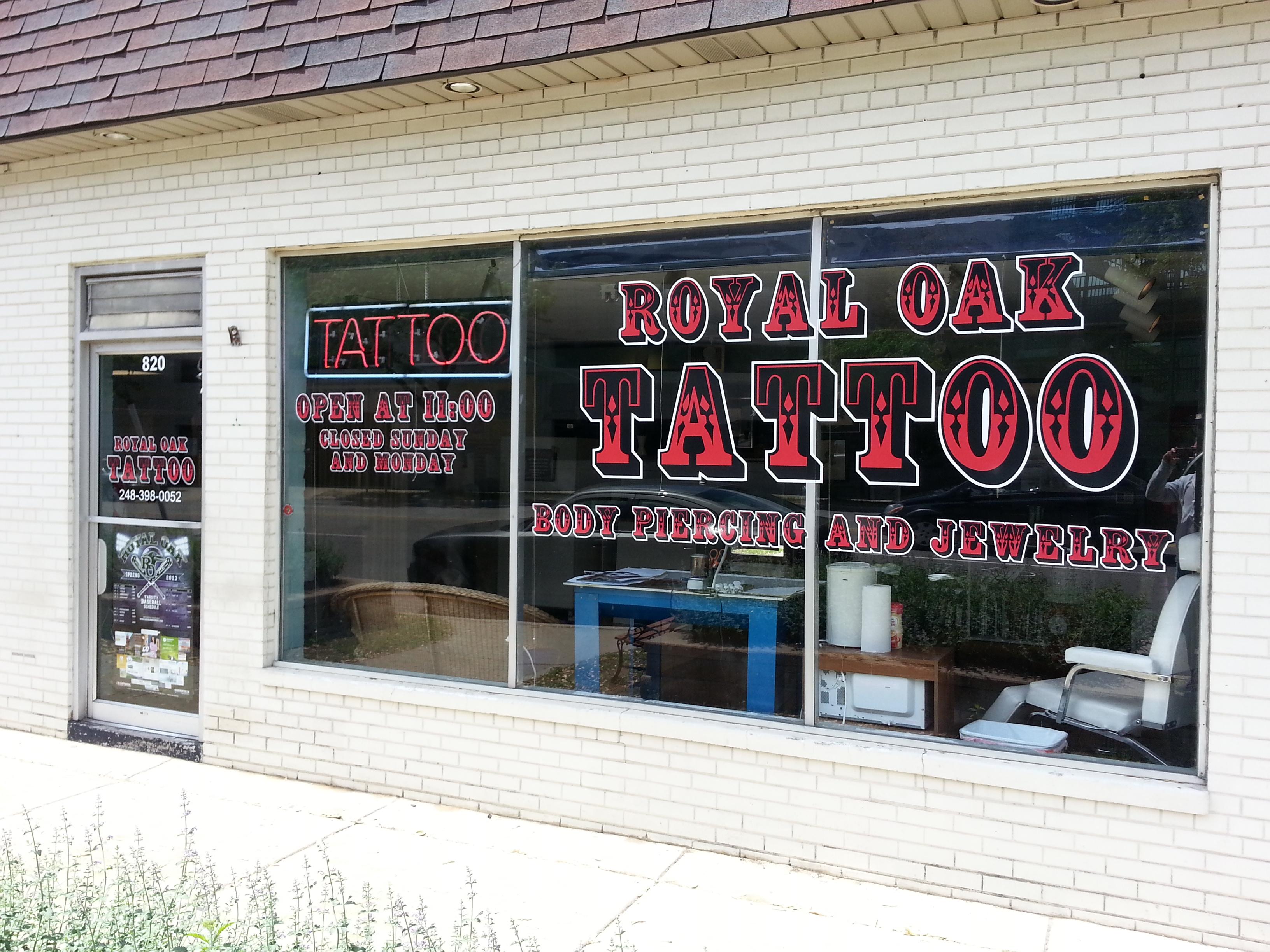 Royal Oak Tattoo