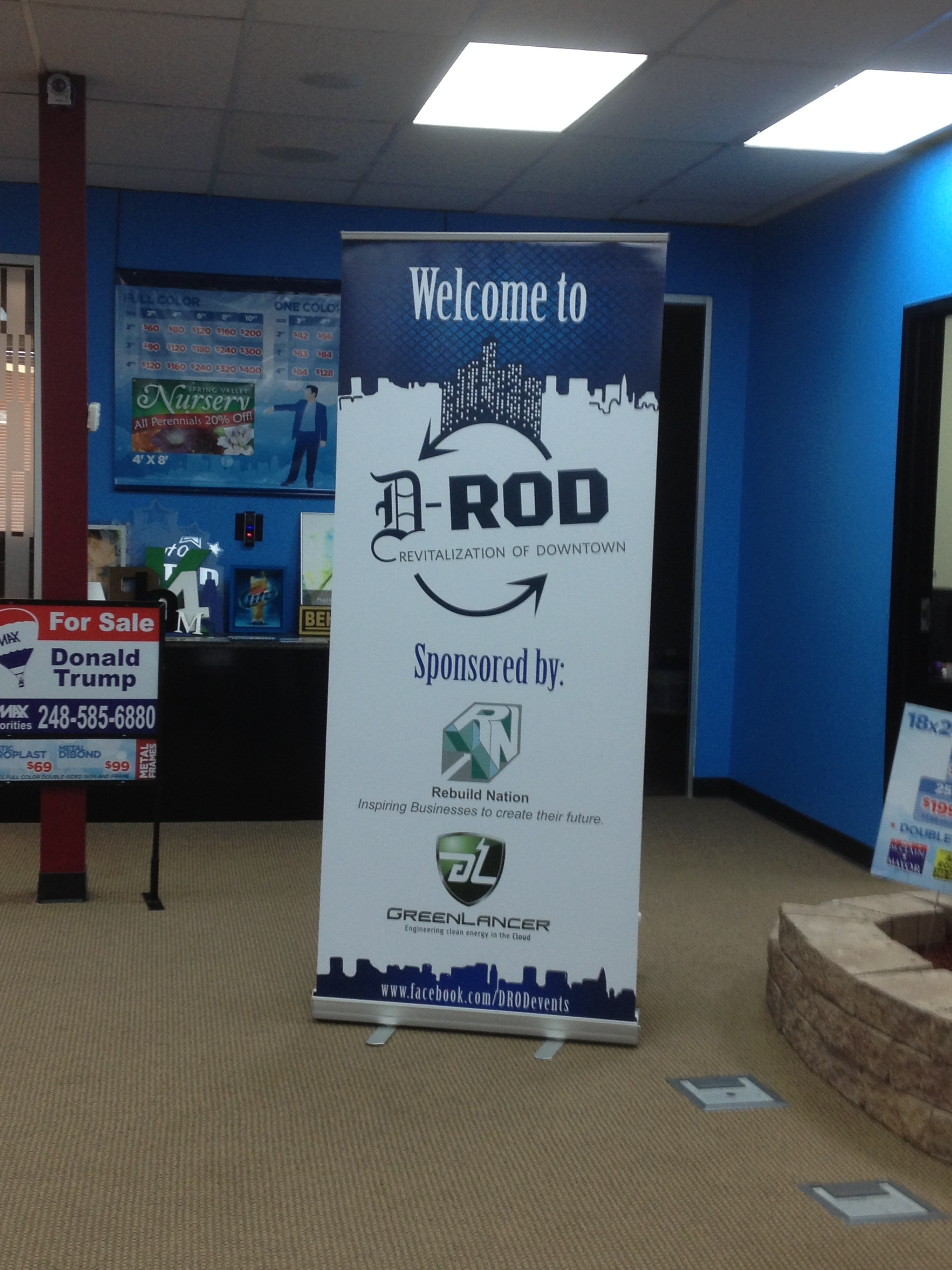 Pop-Up Banners from Signarama Troy