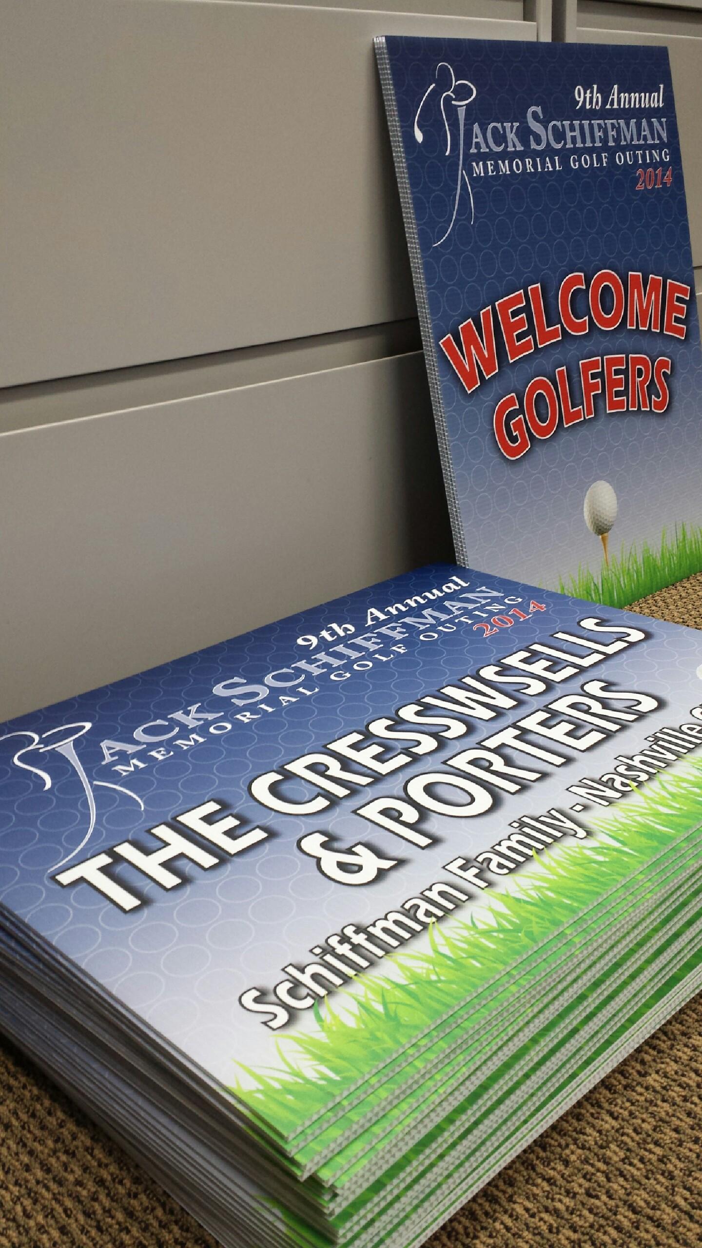 Jack Schiffman Memorial Golf Outing