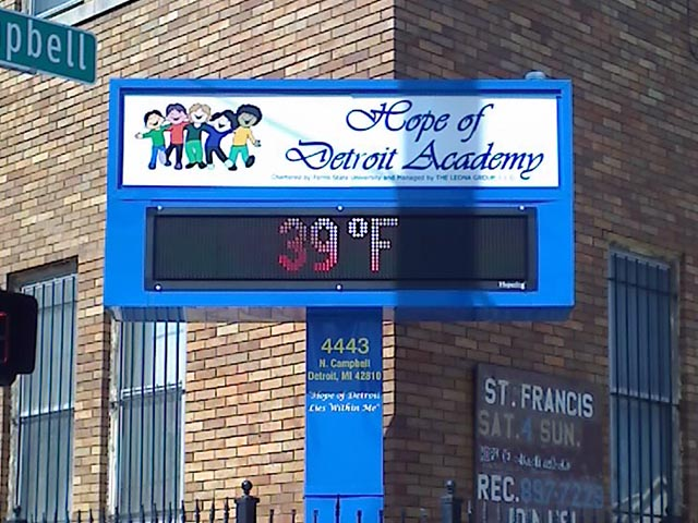 Hope Of Detroit School