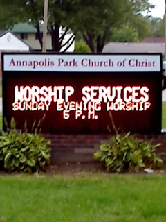 Annapolis Park Church of Christ