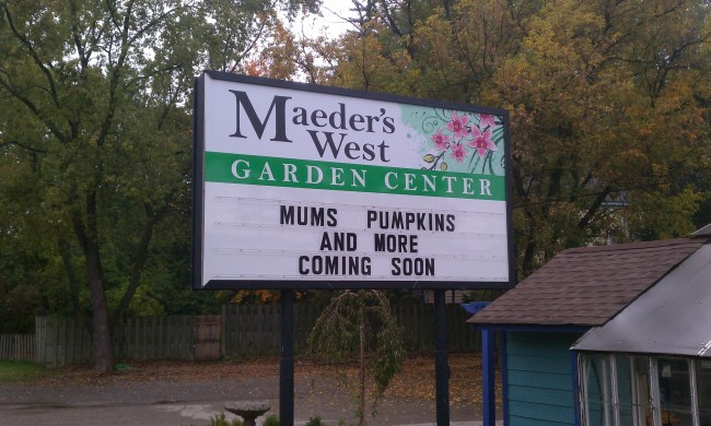 Maeder's West Garden Center