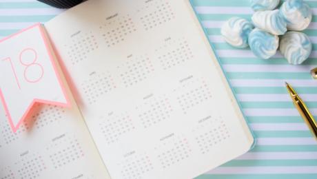 Calendar for event planning