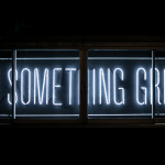 "LED Sign that reads ""Do Something Great"""