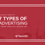 "Featured image for ""Success Rates Of 7 Types Of Advertising & Which Ones You Should Use"" blog post"