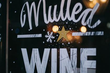 Seasonal Window Sign