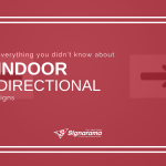"Featured image for ""Everything You DIDN'T Know About Indoor Directional Signs"" blog post"