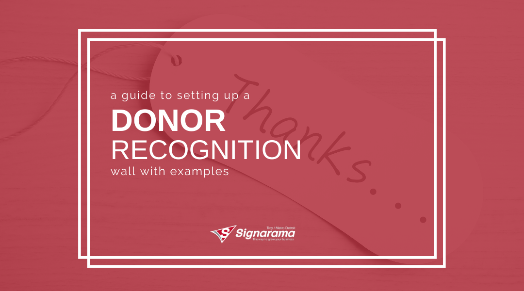 A Guide To Setting Up A Donor Recognition Wall With Examples