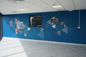Bontaz Sign - Interior Signage Interior Signage Wall Mural - Troy MI
