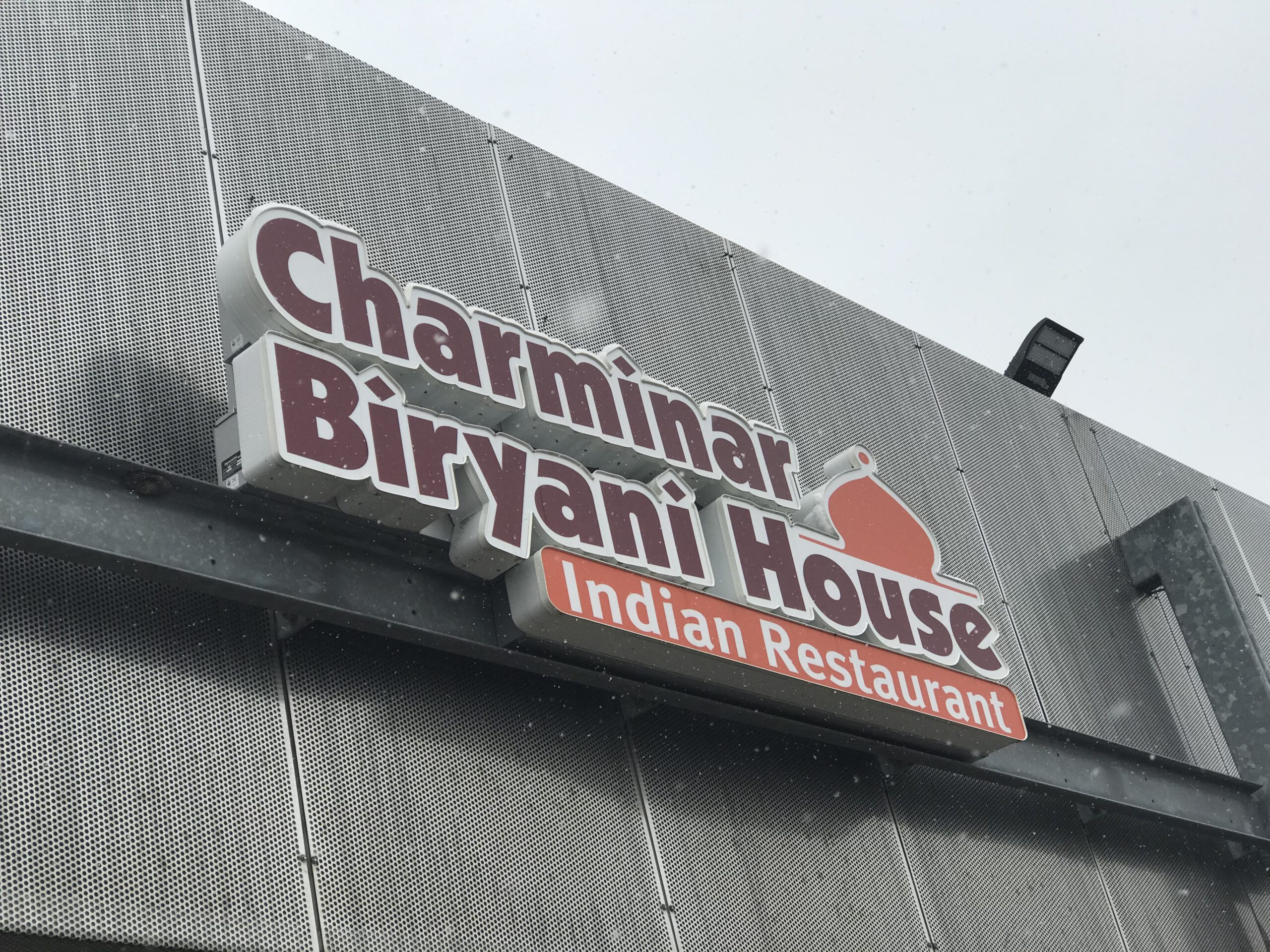 Charminar Biryani House Sign - Channel Letter - Troy MI