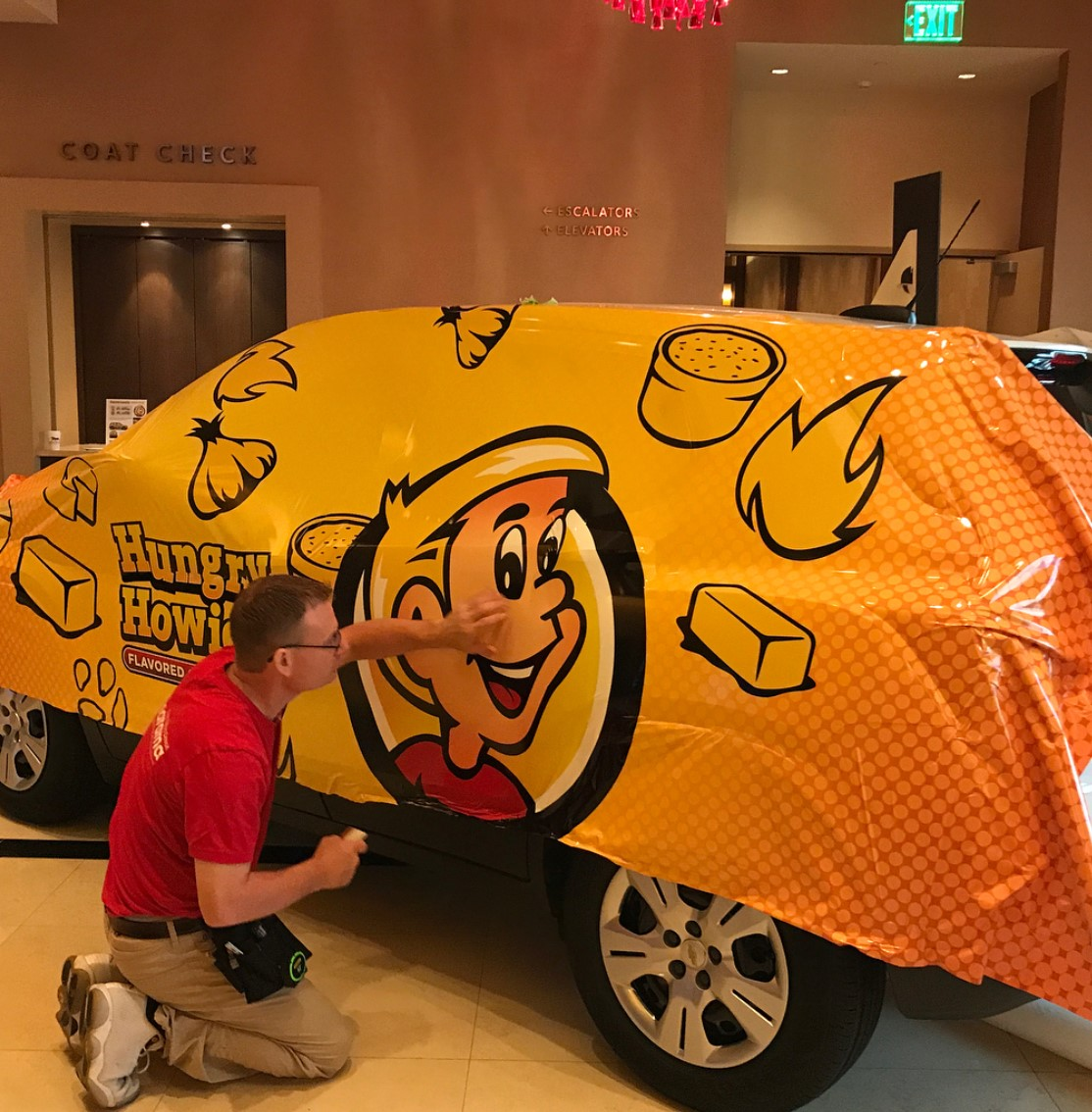 Hungry Howies Wrap - Vehicle Wrap Wrapping Left Rear - Madison Heights