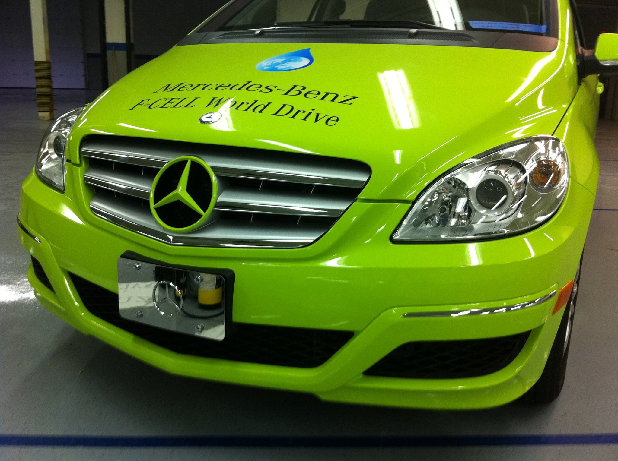 Mercedes Benz Wrap - Vehicle Color Change Wrap, Front - Novi, MI