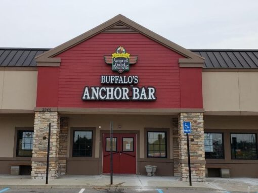 Anchor Bar Sign - Channel Letters Front - Rochester Hills, MI