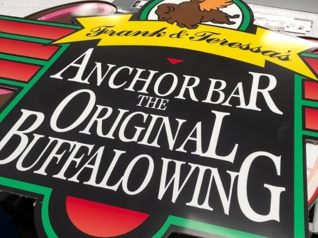 Anchor Bar Sign - Wall Sign Front Close Up - Rochester Hills, MI