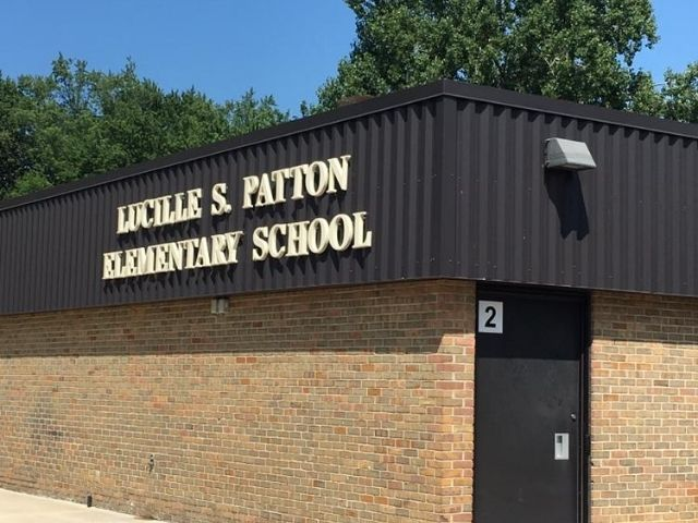Barton Malow Roseville School District - Channel Letters Front Right Angle - Roseville, MI