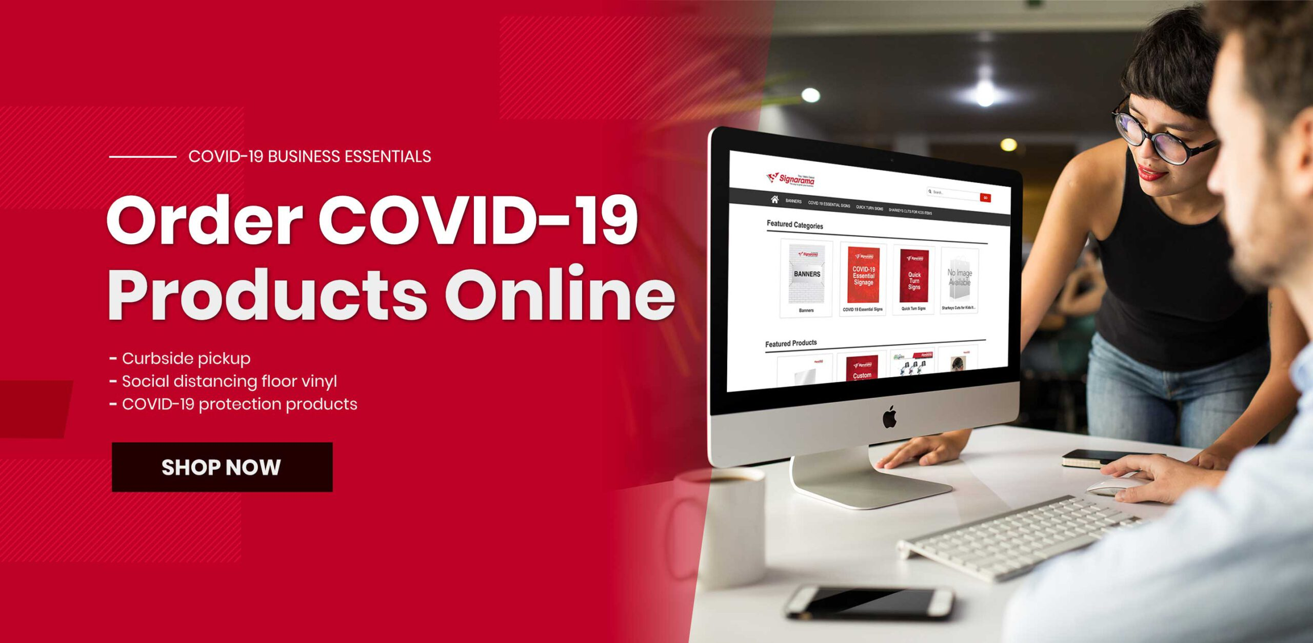 Order COVID-19 Products Online