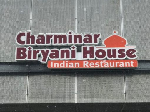 Charminar Indian House Sign - Channel Letter - Troy,MI