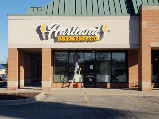 Harland Brewing Sign - Channel Letters Front - Hartland, MI