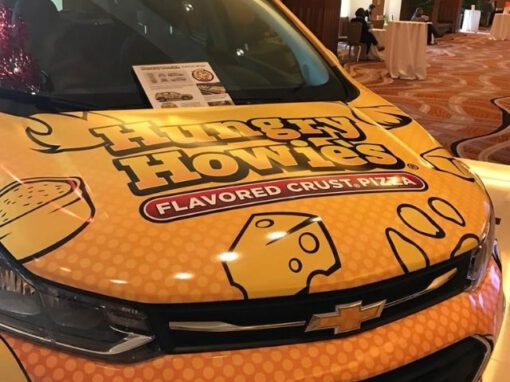 Hungry Howies Wrap - Vehicle Wrap Over Hood - Madison Heights, MI