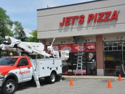 Jet's Pizza Sign - Branding Services, Channel Letters - Shelby Township, MI