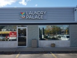 Laundry Palace Sign - Channel Letters Front - Clawson, MI