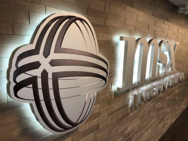 MSX International Sign - Halo Lit Lobby Sign Front Left - Troy, MI