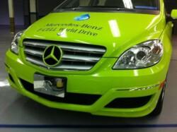 Mercedes Benz Wrap - Vehicle Color Change Wrap, Front - Novi, MI