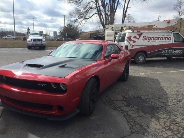 Troy Auto Care Wrap - Custom Hood Vehicle Wrap - Troy, MI