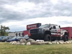 Viking Strength Wrap - Custom vehicle wrap Front left - Waterford, MI