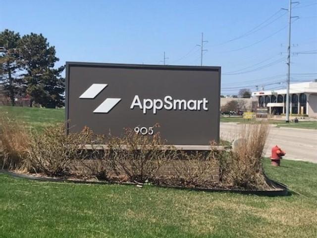 App Smart Sign - Building Sign Monument Cabinet - Clawson, MI