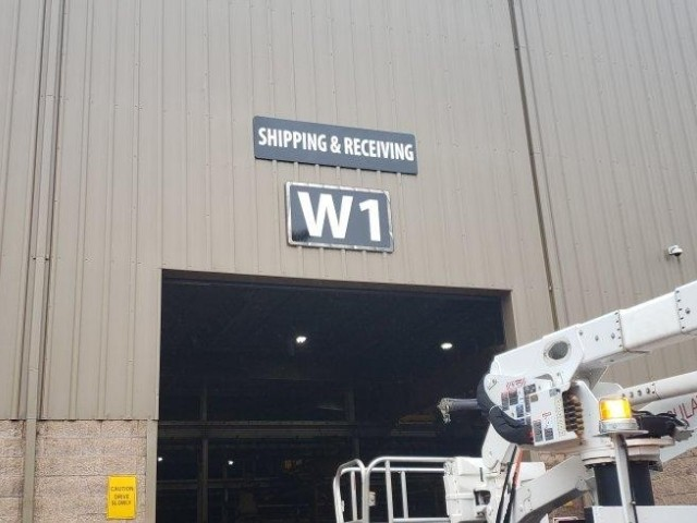 SAS Global Corporation Signs - Building Signs Shipping and Receiving - Warren, MI