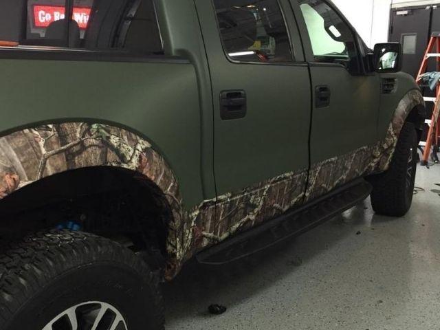 Truck Color Change - Vehicle Wrap - Clarkston, MI