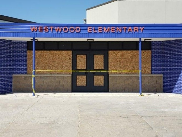 Advanced Building Group - Westwood Elementary Sign - Dimensional Letters, Front View - Warren, MI