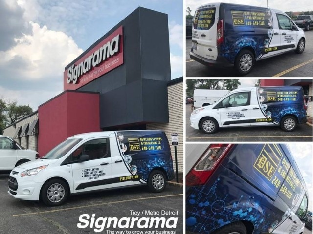Detection Systems & Engineering Wrap - Vehicle Wrap Collage - Troy, MI