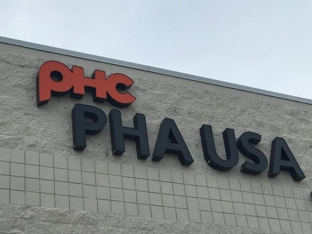 PHA USA Sign - Channel Letters close up - Auburn Hills, MI